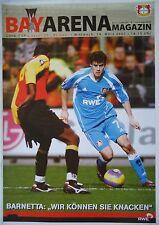Programa UEFA Cup 2006/07 bayer leverkusen-rc lens