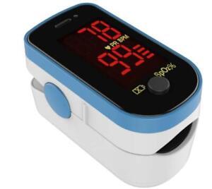 ✅ US Stock Fingertip Pulse Oximeter Blood Oxygen Saturation Finger PR Monitor