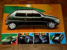Affiche PEUGEOT 106  1992 Poster prospectus brochure prospekt car catalogue auto