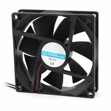 90 x 25mm 9025 2pin 12V DC Brushless PC Case CPU Cooler Cooling Fan D8C4