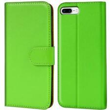 Book Case Apple iPhone 8 Plus 5,5 Hülle Klapphülle Handy Tasche Flip Cover Grün