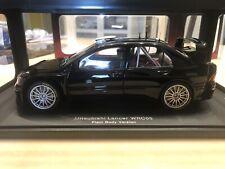 Autoart Mitsubishi Lancer EVO WRC05 Plain Body Version In Black 1/18
