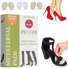 Metatarsal Pads, Ball of Foot Cushions. Foot Pain Relief. 3 Pairs Shoe Inserts.