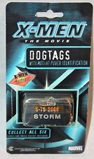 NEW  X-MEN  STORM  DOG TAG   AUTHENTIC COLLECTIBLE MARVEL  2000