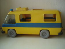 3255 Lufthansa Bus vintage 1977  Playmobil Playmobil aéroport minibus