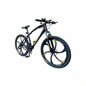 "Road Mountain Bike Men / Women 26"" Wheel Carbon Frame 7 Gear Speed Bicycle"
