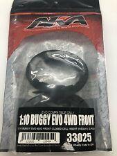 AKA EVO 1/10 4WD 2.4 Front Buggy Closed Cell Inserts (Black) (Medium) AKA33025