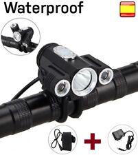Linterna para bicicleta recargable LUZ LED DE 8000LM XM-L XML T6 WATERPROF