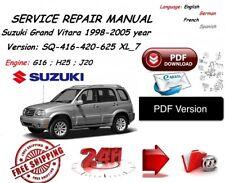 buy suzuki car service repair manuals 2001 ebay rh ebay co uk Isuzu Grand Vitara 2000 Pics 2001 suzuki grand vitara service manual free download