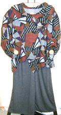 túrbulence: kuscheliges Lagenlook Shirt Überwurf Trendfarben A-Linie EG 46 - 56