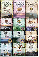 Ross Poldark Winston Graham Collection Series 12 Books Set, The Loving Cup...