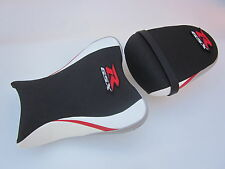 S32 Suzuki GSXR 600 750 K8,K9,K10 seat cover upgrade White Red Silver-SET