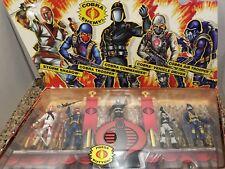 GI Joe 25th Anniversary Cobra Legions 5 Figure Collectors Set