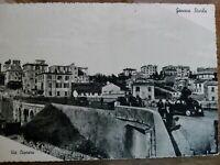 Cartolina Genova Sturla Via Caprera.