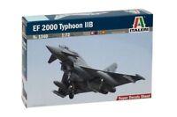 EUROFIGHTER TYPHOON II B (RAF, LUFTWAFFE, SPANISH & ITALIAN MKGS) 1/72 ITALERI