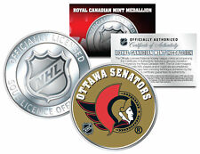 OTTAWA SENATORS Royal Canadian Mint Medallion NHL Colorized Coin * LICENSED *