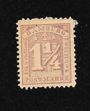 Germany German States Hamburg 1864-1865 Scott #22 MH