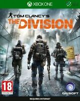 TOM CLANCYS THE DIVISION - XBOX ONE - NEW SEALED - SAME DAY DISPATCH