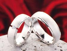 Anelli di lusso con gemme in argento di fidanzamento zircone