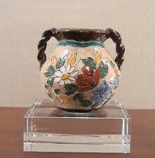 Vase à 2 anses torsadées en céramique de J. MASSIER à VALLAURIS années 40'/50'
