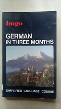 German in Three Months (Hugo's Simplified System) By Ann Friedlaender (pb,1988)