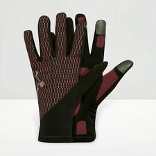 Ron Hill Wind Block Glove Black-Pink M rrp £22