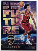 2018 NBA Hoops Faces of the Future Collin Sexton Rookie RC #8, Cavaliers
