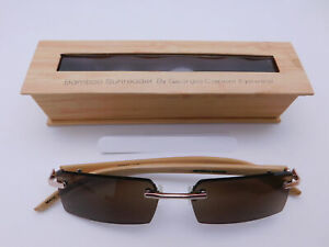 Rimless Bamboo Sun Readers With Box