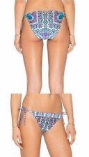 Nanette Lapore Hipster Bikini Bottoms Paros Paisley Side Ties Medium M NWTs $80