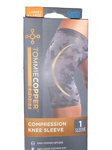 Tommie Copper Ace Knee Brace Support Compression Pain Arthritis MCL Sz L/XL CAMO