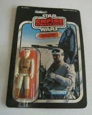 1980 Kenner Star Wars ESB Rebel Soldier Hoth Battle Figure MOC 32 Back #BX127