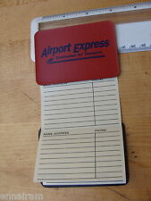 Continental Air Transport Airport Express small Address Book Folder