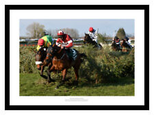 More details for tiger roll 2019 grand national horse racing photo memorabilia (ktv)