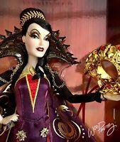 2020 LIMITED EDITION Evil Queen Masquerade Disney Villain Doll LE 5000 NIB