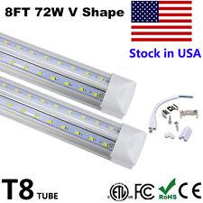 Led Tube 8Ft V Shaped 8Feet Led T8 Integrated Tube Cooler Door Fluorescent Tube