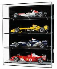 Acrylic Wall Display Case For Four 1 18 Scale Model Formula One Cars