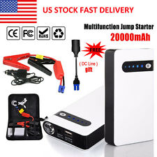 20000mAh Portable Car Jump Starter Power Bank Vehicle Battery Charger 12V Hot