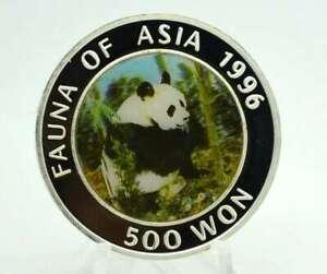 1 OZ Silber Korea 500 Won 1996 Panda Hologramm PP Lagerräumung