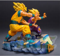 Dragon Ball Son Goku & Son Gohan KaMeHaMeHa PVC Figure Model Neu