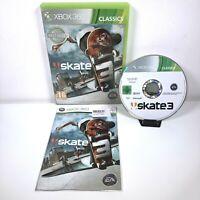 Skate 3 Classics Edition Microsoft Xbox 360 *Complete* FAST DISPATCH FREE POST