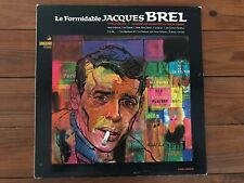 Jacques Brel ‎– Le Formidable Jaques Brel 1967 Vanguard ‎VRS-9265 Vinyl NM