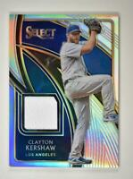 2020 Select Swatches Holo #SS-CK Clayton Kershaw /149 - Los Angeles Dodgers