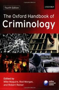 The Oxford Handbook of Criminology by Mike Maguire Paperback Book The Cheap Fast