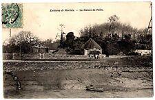 CPA 29 - environs de MORLAIX (Finistère) - La Maison de Paille