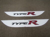 HONDA CIVIC TYPE-R FD2 STICKER SIDE DECAL (TYPE-R) ONE CAR SET 08F30-SNW-000A