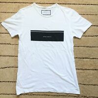 ZARA Man Short Sleeve Graphic T-Shirt - Size L