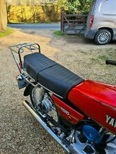 Motorcycle Seat Cover YAMAHA YB100 LATE Complete With Strap