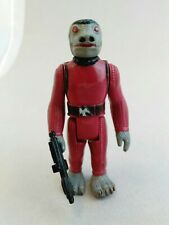 Fair complete red snaggletooth vintage Kenner Star Wars 1977 first 21 repro