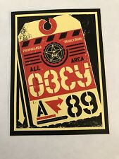 SHEPARD FAIREY Obey Giant Propaganda Engineering 89 Sticker
