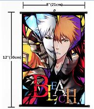 HOT Japan Anime Bleach Wall Poster Scroll Home Decor Cosplay 1504